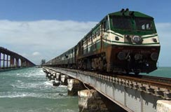 Train Trip of South India